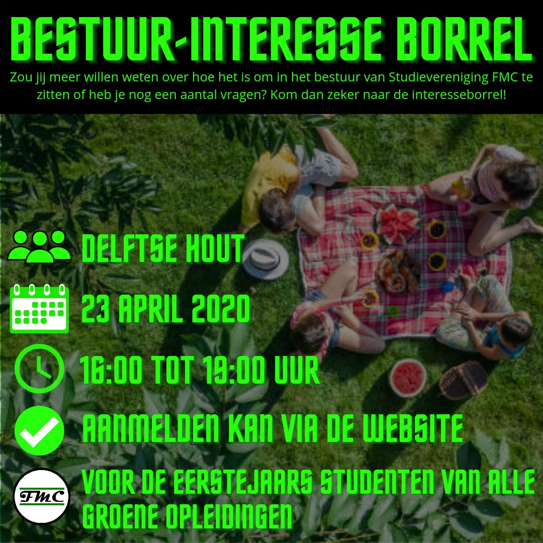Borrel: Bestuurs-interesse