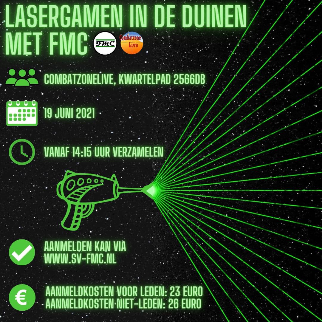 FYSIEKE ACTIVITEIT: Lasergamen