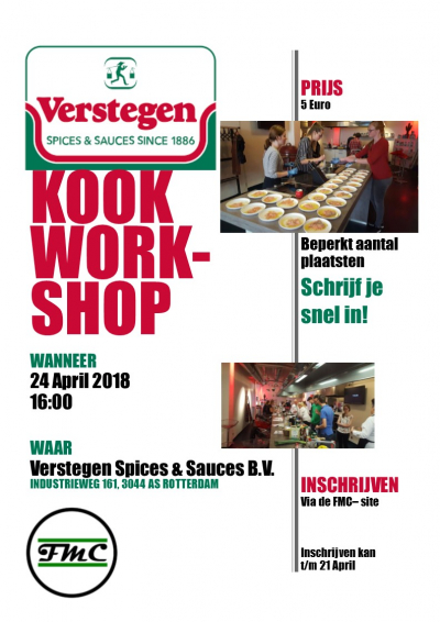 Kookworkshop Verstegen