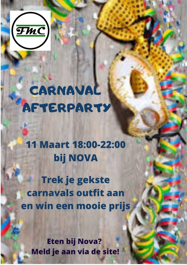 Borrel: After carnaval