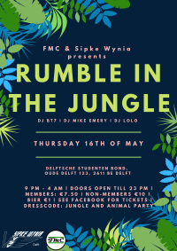 Eindfeest: Rumble in the Jungle